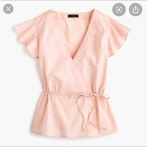 J.Crew blush pink blouse!